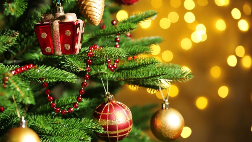 Поздравляем с наступающим Новым годом и Рождеством